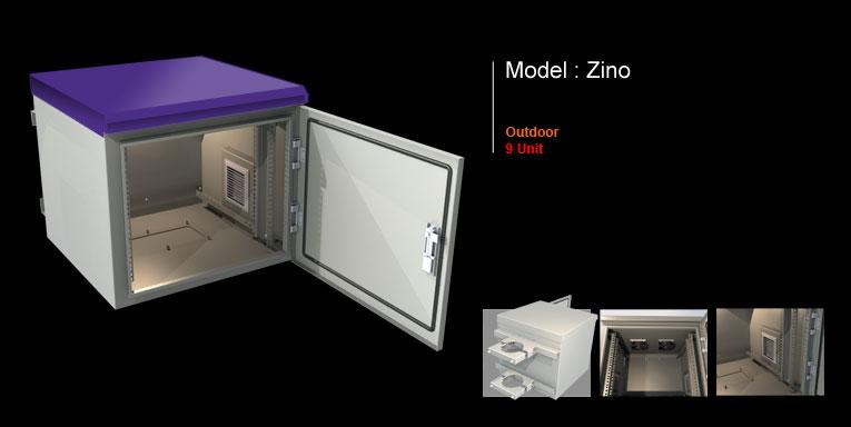 رک outdoor مدل zino-9 unit