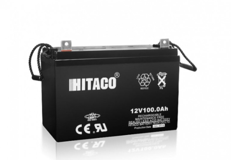 باتری هیتاکو 12 ولت 100 آمپر ساعت